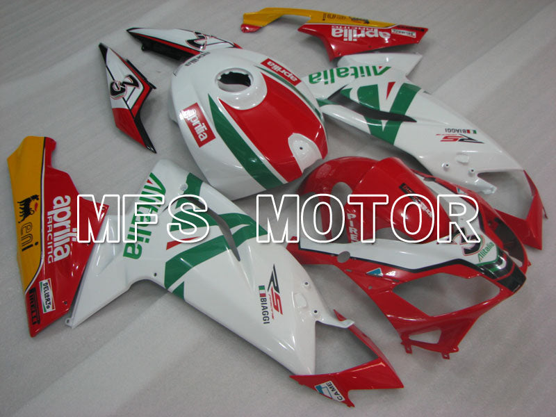 Injection ABS Fairing For Aprilia RS125 2006-2011 - Alitalia - Rød Hvit - MFS4258 - Shopping og engros