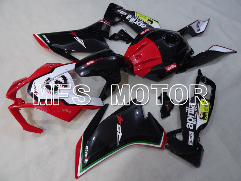 Injection ABS Fairing For Aprilia RS125 2012-2014 - Andre - Svart Rød - MFS4266 - Shopping og engros