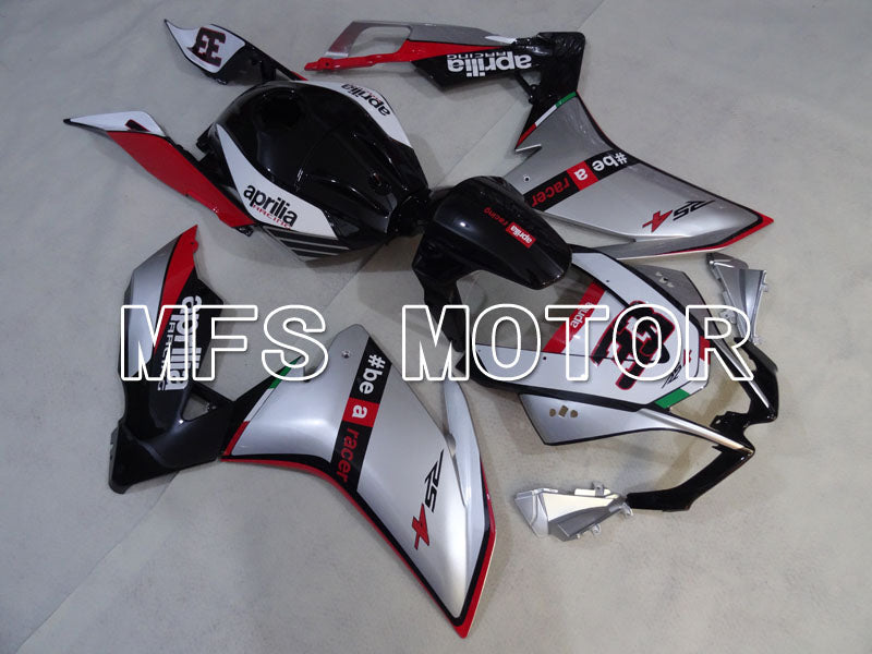 Injection ABS Fairing For Aprilia RS125 2012-2014 - Andre - Svart Sølv - MFS4275 - Shopping og engros