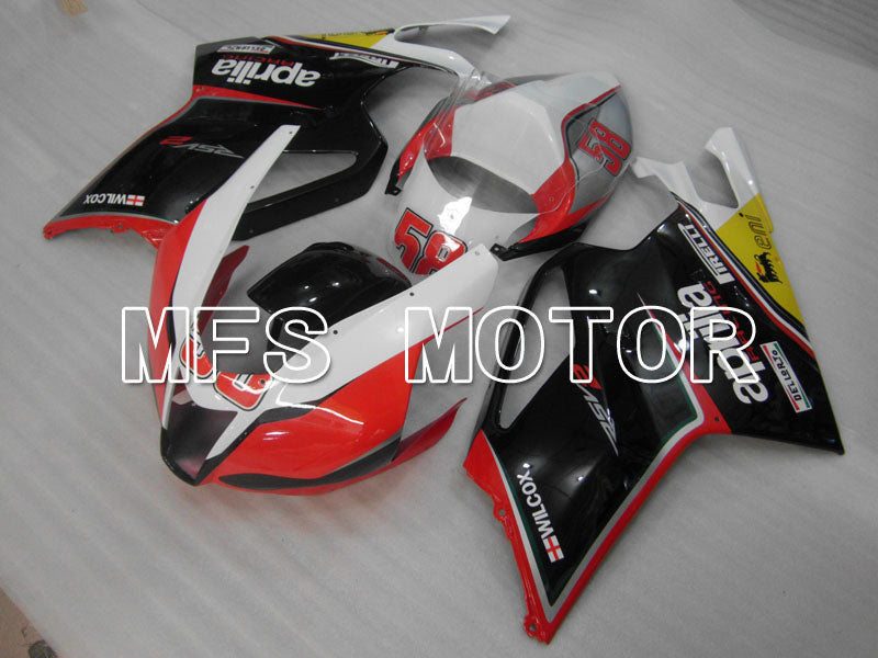 ABS Fairing For Aprilia RSV 1000 R 2003-2006 - Others - Black Red White - MFS4316 - shopping and wholesale