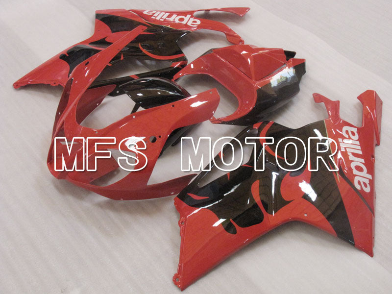 ABS Fairing For Aprilia RSV 1000 R 2003-2006 - Andre - Svart Rød - MFS4325 - Shopping og engros