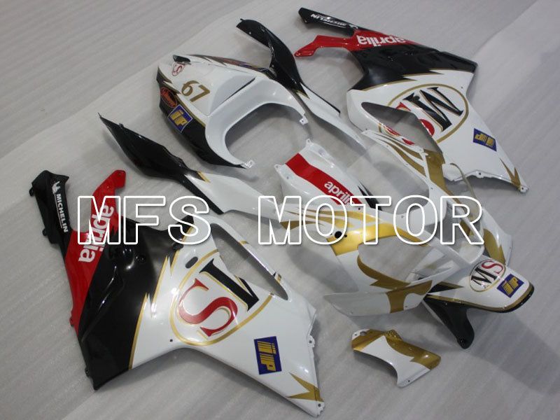 ABS Fairing For Aprilia RSV 1000 R 2003-2006 - Andre - Svart Hvit - MFS4327 - Shopping og engros