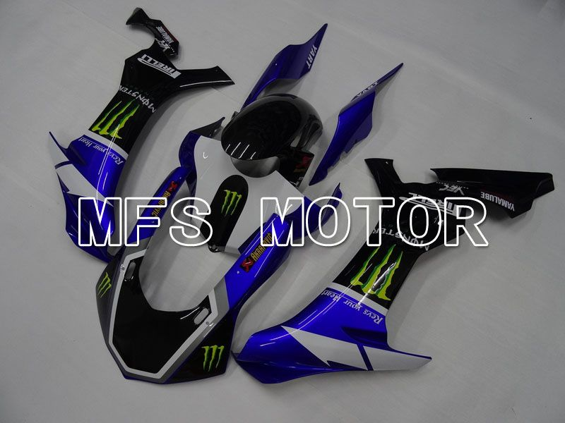 Injection ABS Fairing For Yamaha YZF-R1 2015-2017 - Monster - Sort Blå - MFS4351 - Shopping og engros