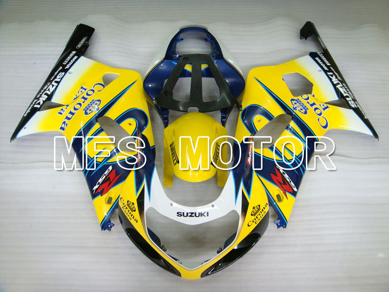 Injection ABS Fairing For Suzuki GSXR1000 2000-2002 - Corona - Blue Yellow - MFS4379 - shopping and wholesale