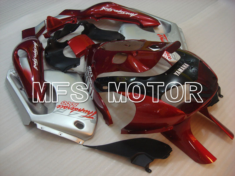 ABS Fairing For Yamaha YZF1000R 1997-2007 - Factory Style - Red Wine Color Silver - MFS4393 - shopping and wholesale