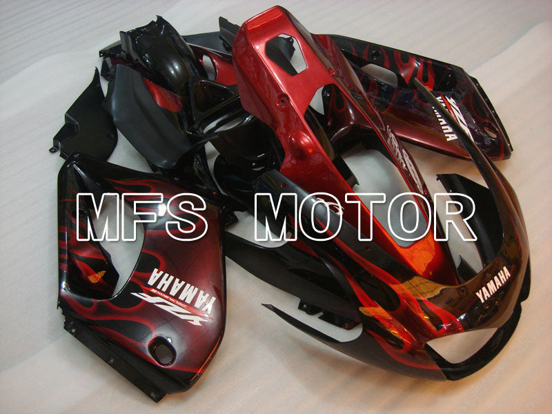 ABS Fairing For Yamaha YZF1000R 1997-2007 - Flame- Black Red - MFS4397 - shopping and wholesale