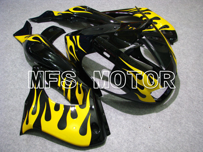ABS Fairing For Yamaha YZF1000R 1997-2007 - Flame - Black Yellow - MFS4420 - shopping and wholesale