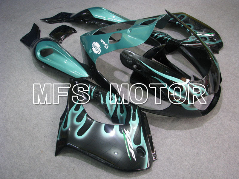 ABS Fairing For Yamaha YZF1000R 1997-2007 - Flame - Black Cyan - MFS4423 - shopping and wholesale