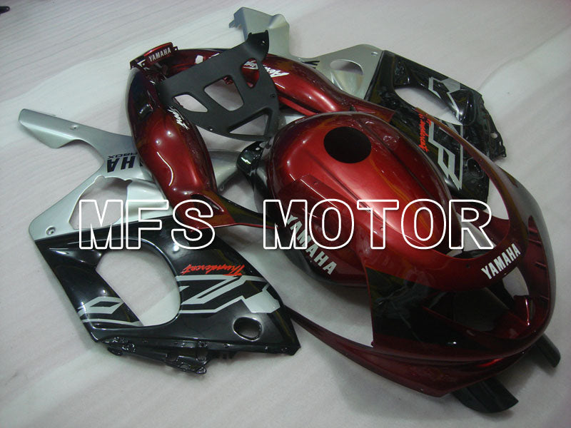 Injection ABS Fairing For Yamaha YZF-600R 1997-2007 - Factory Style - Red Wine Color Black Silver - MFS4445 - shopping and wholesale