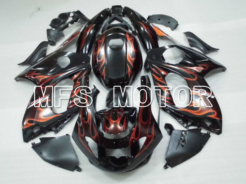Injection ABS Fairing For Yamaha YZF-600R 1997-2007 - Flame - Orange Black - MFS4447 - shopping and wholesale