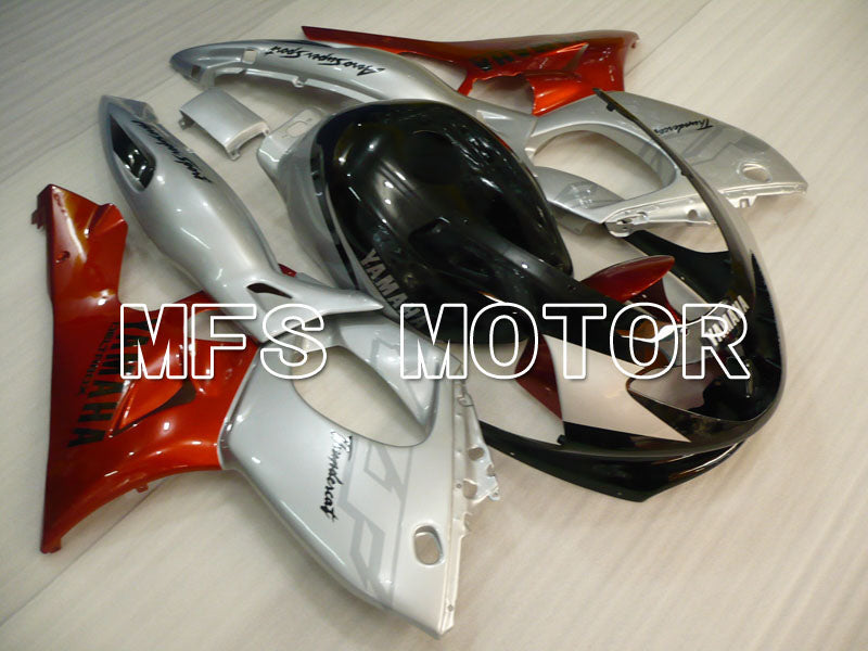 Injection ABS Fairing For Yamaha YZF-600R 1997-2007 - Factory Style - Red Wine Color Black Silver - MFS4448 - shopping and wholesale