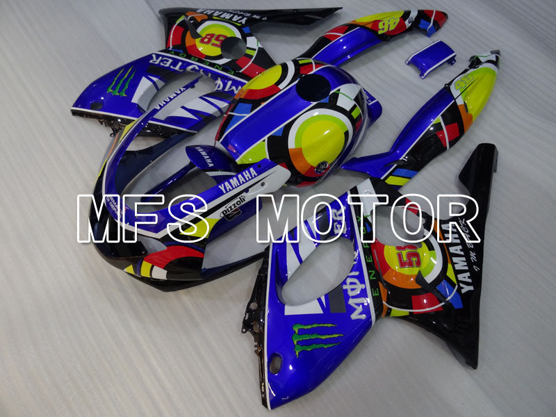 Injection ABS Fairing For Yamaha YZF-600R 1997-2007 - Others - Blue - MFS4450 - shopping and wholesale