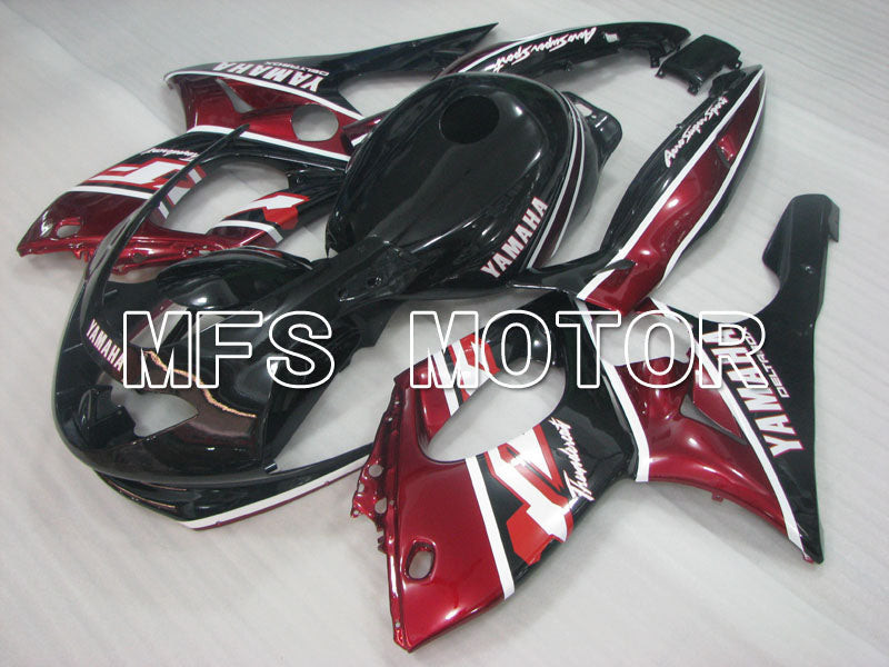 Injection ABS Fairing For Yamaha YZF-600R 1997-2007 - Factory Style - Red Wine Color Black Silver - MFS4456 - shopping and wholesale