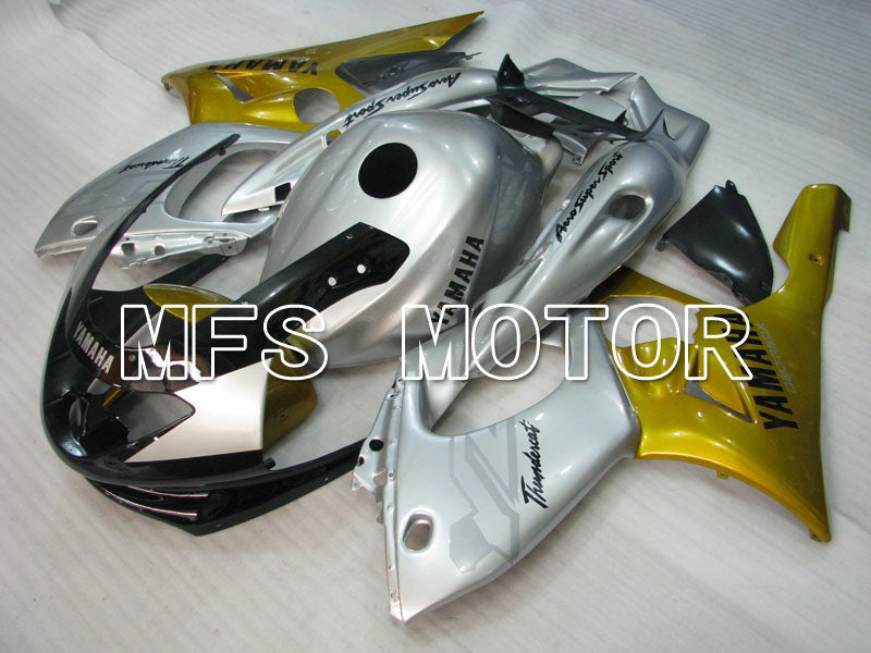 Injection ABS Fairing For Yamaha YZF-600R 1997-2007 - Factory Style - Gold Silver - MFS4460 - shopping and wholesale
