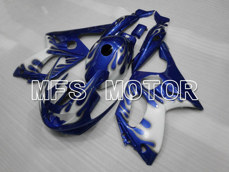 Injection ABS Fairing For Yamaha YZF-600R 1997-2007 - Flame - Blue White - MFS4461 - shopping and wholesale