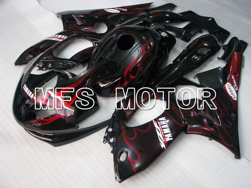 Injection ABS Fairing For Yamaha YZF-600R 1997-2007 - Flame - Red Wine Color White - MFS4462 - shopping and wholesale
