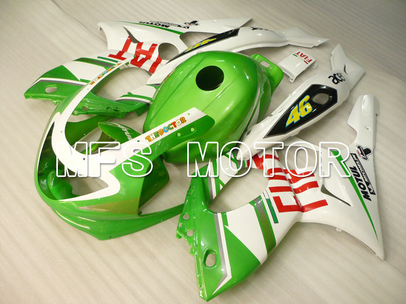 Injection ABS Fairing For Yamaha YZF-600R 1997-2007 - FIAT - Green White - MFS4464 - shopping and wholesale