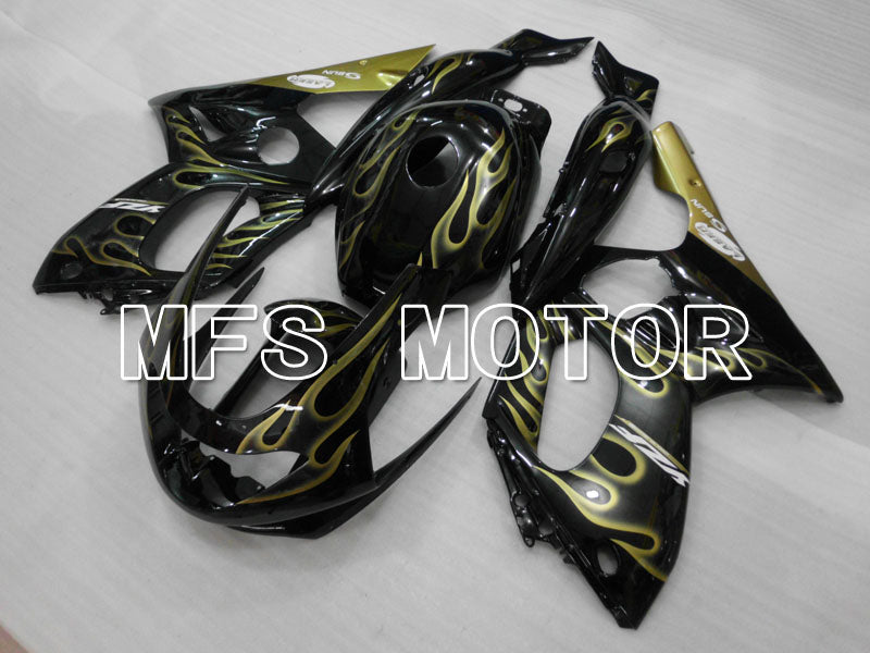 Injection ABS Fairing For Yamaha YZF-600R 1997-2007 - Flame - Yellow Black - MFS4468 - shopping and wholesale