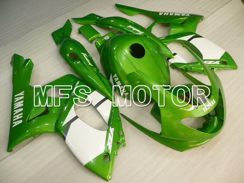 Injection ABS Fairing For Yamaha YZF-600R 1997-2007 - Factory Style - Green White - MFS4472 - shopping and wholesale