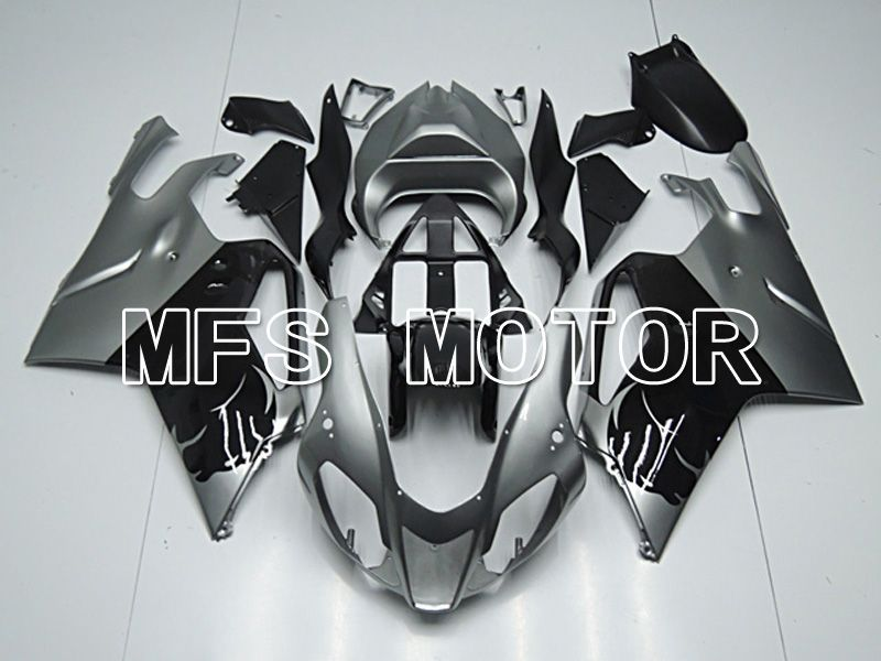 ABS Fairing For Aprilia RSV 1000 R 2003-2006 - Factory Style - Black Silver - MFS4478 - shopping and wholesale