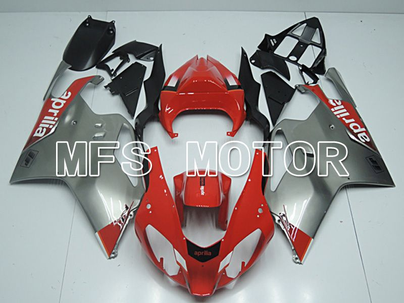 ABS Fairing For Aprilia RSV 1000 R 2003-2006 - Factory Style - Red Silver - MFS4479 - shopping and wholesale