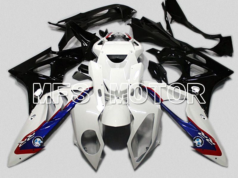 Injection ABS Fairing för BMW S1000RR 2009-2014 - Fabriksstil - Svart Vit Blå - MFS4481 - Shopping och grossist