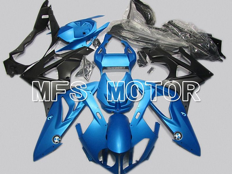 Injection ABS Fairing för BMW S1000RR 2009-2014 - Fabriksstil - Svart Blå - MFS4486 - Shopping och grossist