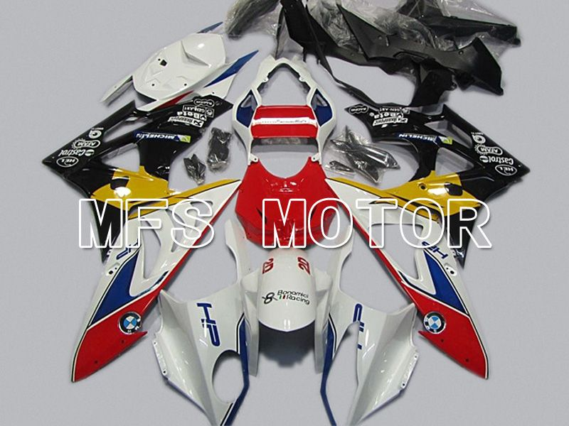 Injection ABS Fairing för BMW S1000RR 2009-2014 - Fabriksstil - Svart Vit Röd - MFS4492 - Shopping och grossist