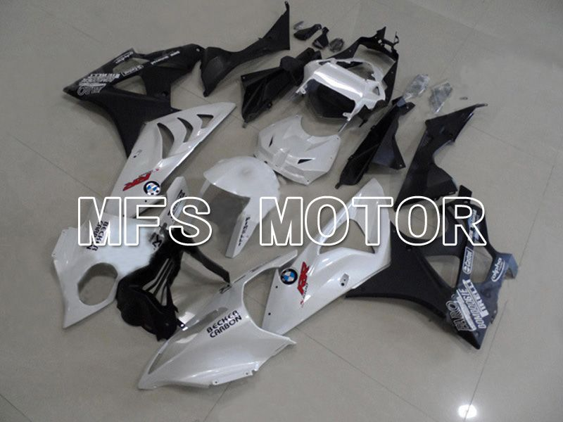 Injection ABS Fairing för BMW S1000RR 2009-2014 - Fabriksstil - Svartvit - MFS4494 - Shopping och grossist