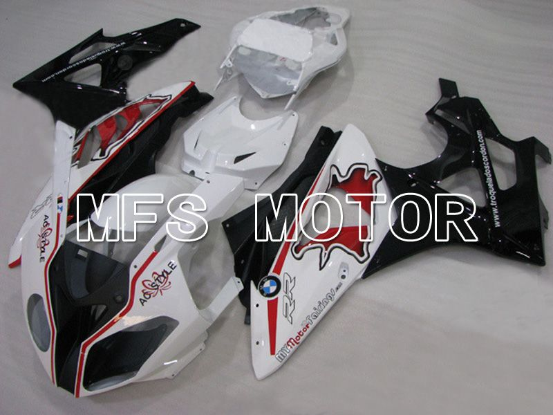 Injection ABS Fairing til BMW S1000RR 2009-2014 - Fabriksstil - Sort Hvid Rød - MFS4498 - Shopping og engros