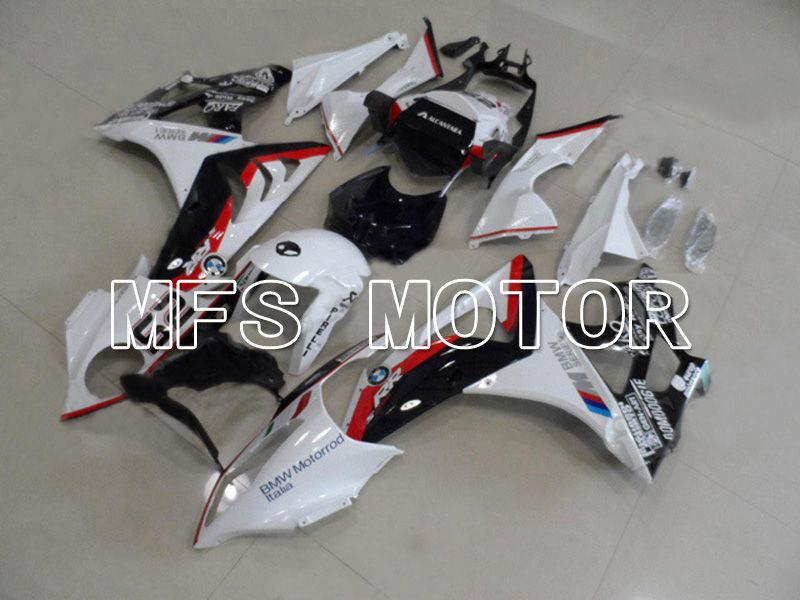 Injection ABS Fairing til BMW S1000RR 2009-2014 - Fabriksstil - Sort Hvid Rød - MFS4500 - Shopping og engros