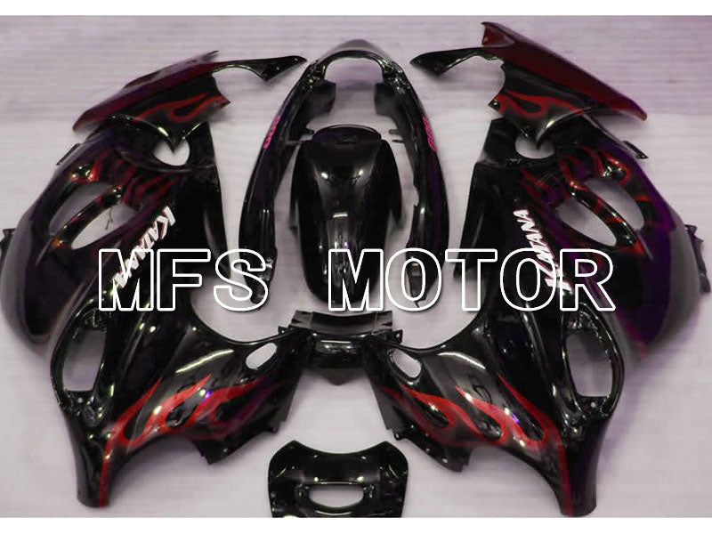 ABS Fairing For Suzuki GSX 750F 600F Katana 2004-2006 - Flame - Black Red Wine Color - MFS4502 - shopping and wholesale