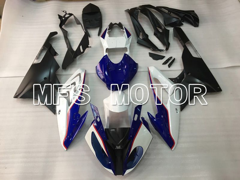 Injection ABS Fairing för BMW S1000RR 2015-2016 - Fabriksstil - Vitblå - MFS4507 - shopping och grossist