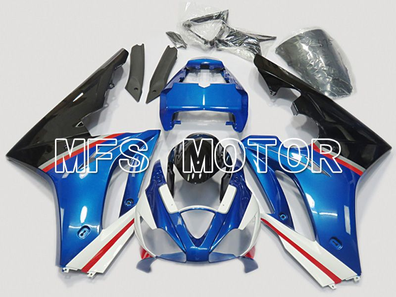 Injection ABS Fairing For Triumph Daytona 675 2006-2008 - Fabrikkstil - Svart Blå - MFS4516 - Shopping og engros