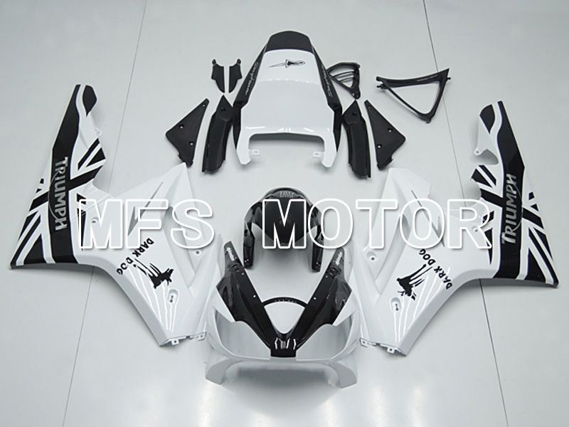 Inyección ABS carenado para Triumph Daytona 675 2006-2008 - Dark Dog - Black White - MFS4524 - compras y venta al por mayor