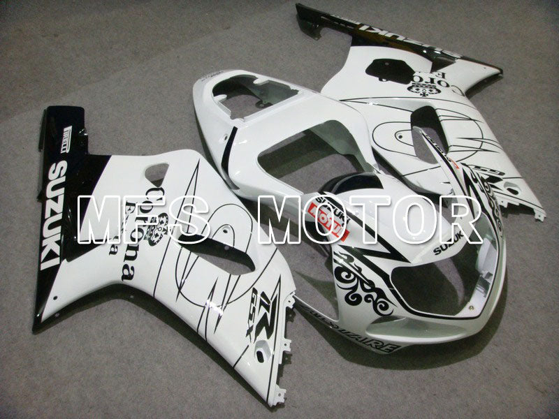 Injection ABS Fairing For Suzuki GSXR600 2001-2003 - Corona - Sort Hvid - MFS4530 - Shopping og engros