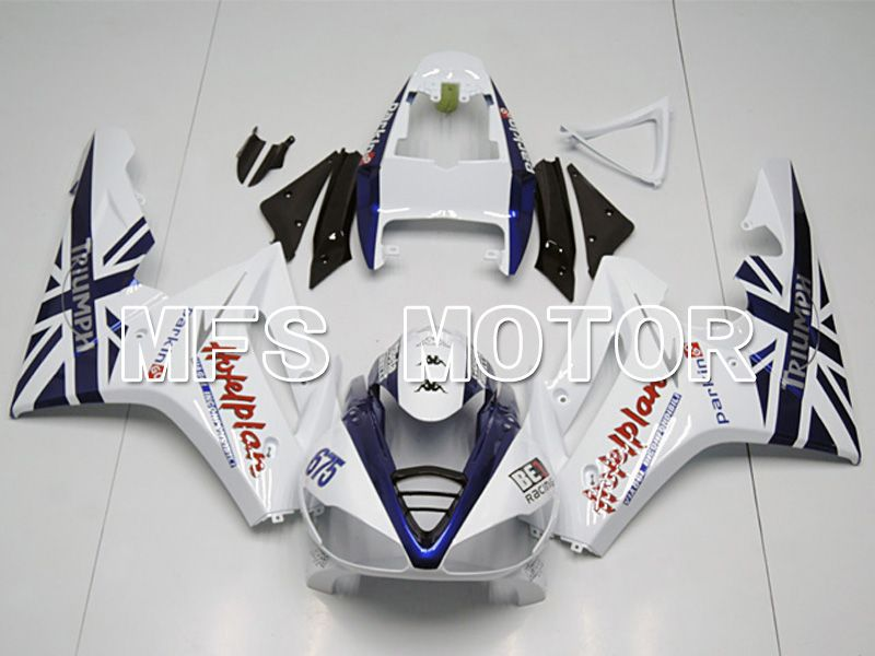 Injection ABS Fairing For Triumph Daytona 675 2009-2012 - Andre - Blå Hvit - MFS4534 - Shopping og engros