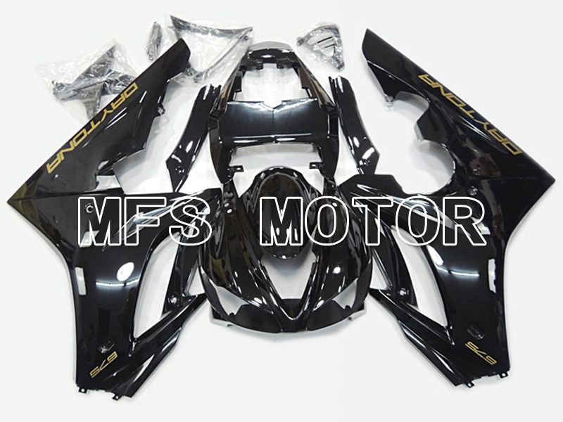 Injection ABS Fairing For Triumph Daytona 675 2009-2012 - Fabrikkstil - Svart - MFS4542 - Shopping og engros