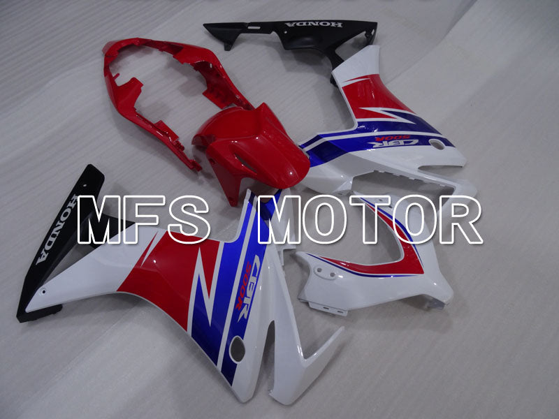 Injection ABS Fairing For Honda CBR500R 2013-2015 - Fabriksstil - Rød Blå Hvid - MFS4577 - Shopping og engros