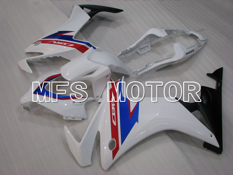Injection ABS Fairing For Honda CBR500R 2013-2015 - Factory Style - Blue White - MFS4581 - shopping and wholesale