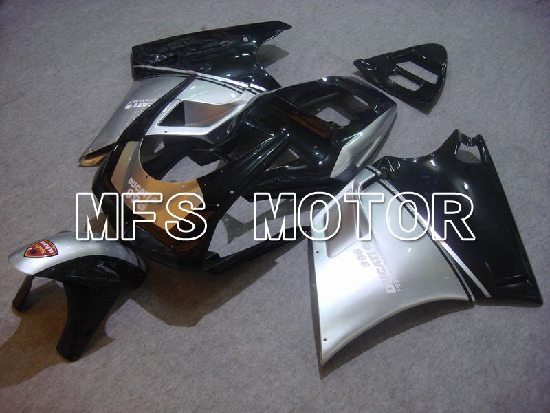 Injection ABS Fairing For Ducati 748 / 998 / 996 1994-2002 - Fabrikkstil - Svart Sølv - MFS4588 - Shopping og engros