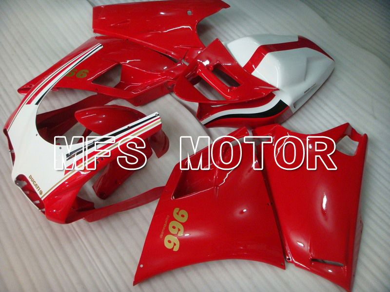 Injection ABS Fairing For Ducati 748 / 998 / 996 1994-2002 - Factory Style - Red White - MFS4594 - shopping and wholesale
