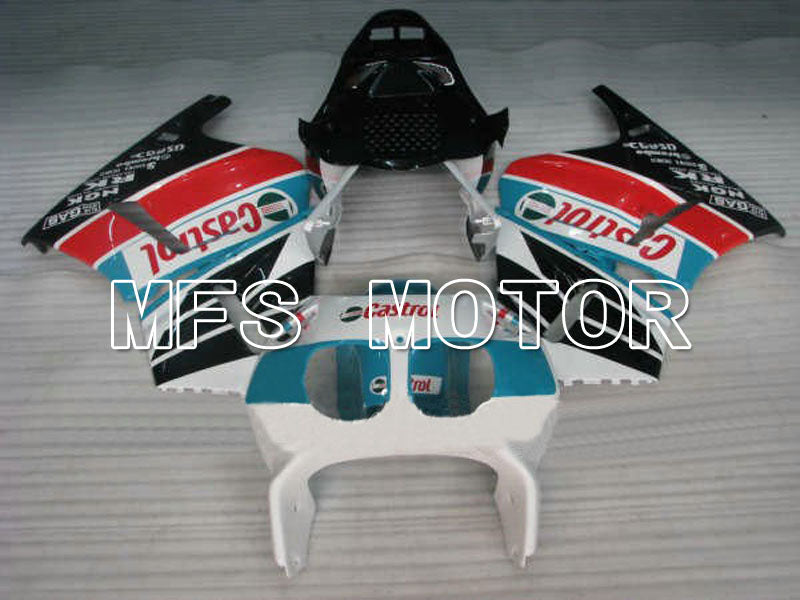 ABS Fairing For Honda CBR 400RR NC23 1988-1989 - Castrol - Blue White Black - MFS4597 - shopping and wholesale