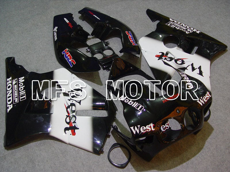 ABS Fairing For Honda CBR 400RR NC23 1988-1989 - West - White Black - MFS4611 - shopping and wholesale