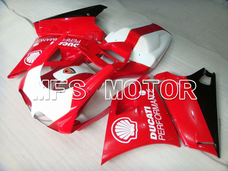 Injection ABS Fairing For Ducati 748 / 998 / 996 1994-2002 - Ytelse - Rødt Hvitt - MFS4612 - Shopping og engros