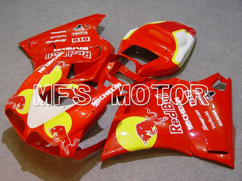 Injection ABS Fairing For Ducati 748 / 998 / 996 1994-2002 - Red Bull - Rød - MFS4617 - Shopping og engros