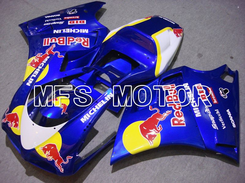 Injection ABS Fairing For Ducati 748 / 998 / 996 1994-2002 - Red Bull - Blå - MFS4619 - Shopping og engros