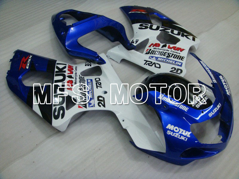 Injection ABS Fairing For Suzuki GSXR600 2001-2003 - Andre - Hvid Blå - MFS4624 - Shopping og engros