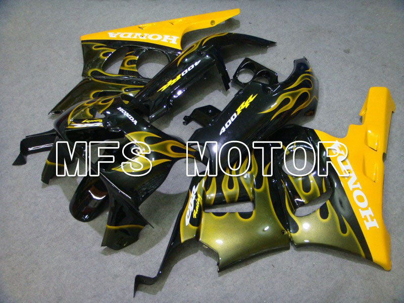 ABS Fairing For Honda CBR 400RR NC29 1990-1999 - Flame - Yellow Black - MFS4629 - shopping and wholesale