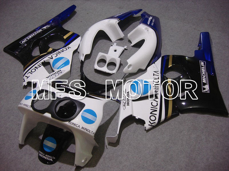 ABS Fairing For Honda CBR 400RR NC29 1990-1999 - Konica Minolta - White Black - MFS4633 - shopping and wholesale